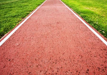 salto largo: Lane por el salto de longitud.