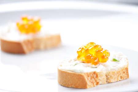 Caviar Canapes photo