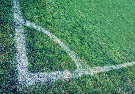 corner kick soccer: Corner of Soccer Field
