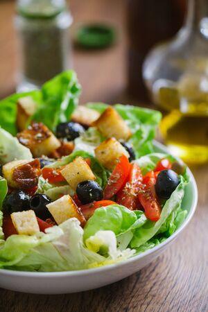 Mediterranean mixed salad 写真素材