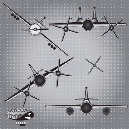 world war ii: set of aircraft since World War II