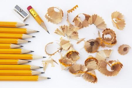 sharpening process: Pencil sharpening