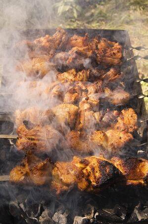 Barbecue preparation