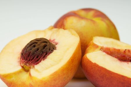 nectarine: Nectarine closeup Stock Photo