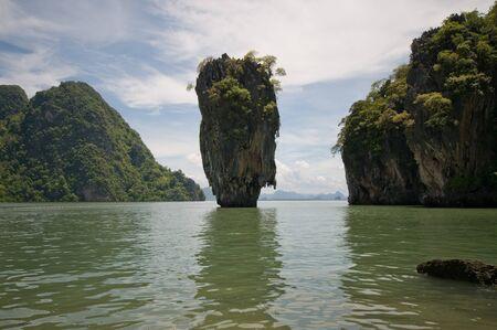 View of James Bond island near Phuket, Thailand