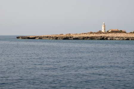 Some lighthouse on Cyprus island
