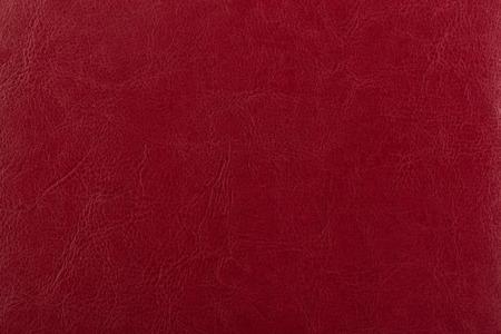 Dunkelrote Lederoberfläche als Hintergrund, Lederbeschaffenheit. Haut Standard-Bild