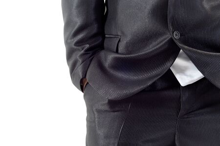 Clothes of a young buisness man photo