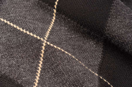 stockinet: Closeup of a textile with stripes