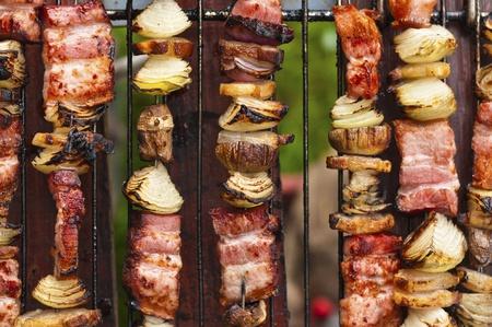 Tasty pork meat ready to be eaten Reklamní fotografie