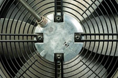 mechanical ventilation: Closeup of an air conditioner