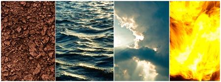 cuatro elementos: Los cuatro elementos de la astrolog�a