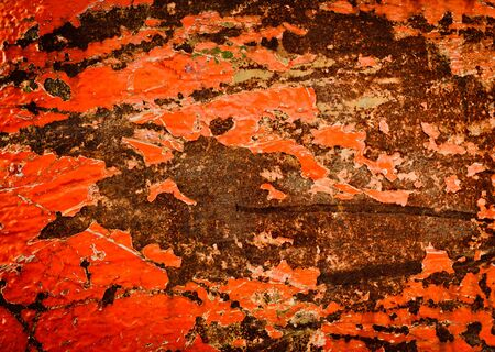 Rusty background texture with old paint Stock Photo - 12746393