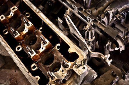 Motor block of a car closeup Stock Photo - 12746306