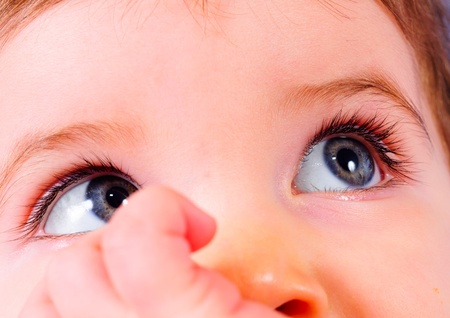 Closeup of a beautiful child Stock Photo - 12987180