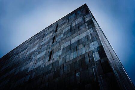 Abstract triangular building angle shot Stock Photo - 12992978