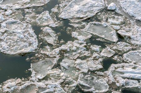 Ice on water Stock Photo - 13611312