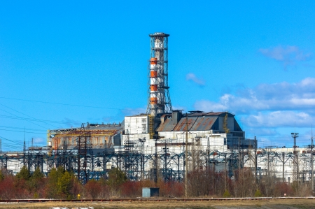 The Chernobyl Nuclear Power Plant 2012 Stock Photo - 13611307