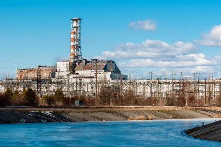 The Chernobyl Nuclear Power Plant 2012 Stock Photo - 13611215