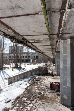 Abandoned residental architecture in Pripyat, 2012 Stock Photo - 13611294