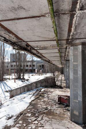 Abandoned residental architecture in Pripyat, 2012 Stock Photo - 13611294