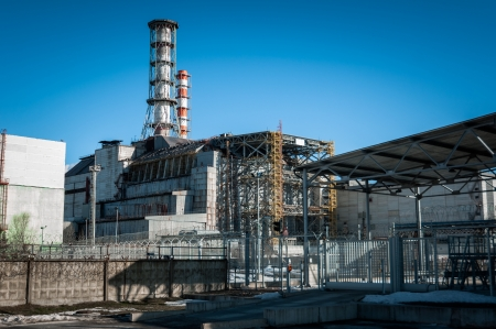 The Chernobyl Nuclear Power plant, 2012 March Stock Photo - 13610912