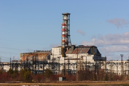 The Chernobyl Nuclear Pwer Plant, 2012 March 14 Stock Photo - 13611420