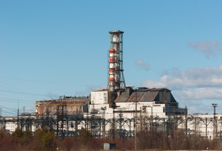 The Chernobyl Nuclear Power Plant, 2012 March 14 Stock Photo - 14296308