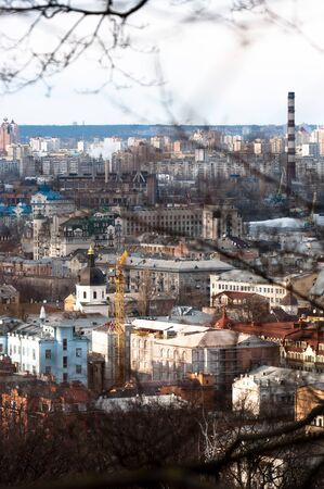 Kiev city from a mountain Stock Photo - 14302331