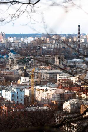 Kiev city from a mountain Stock Photo - 14302331