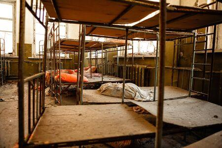 Abandoned nursery at Chernobyl march 2012 Stock Photo - 15931566