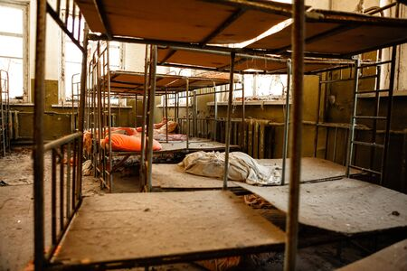 Abandoned nursery at Chernobyl march 2012 Stock Photo - 15931566