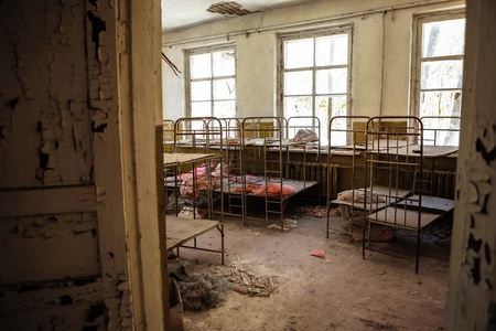 Abandoned nursery at Chernobyl march 2012 Stock Photo - 15933151