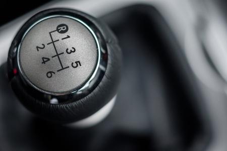 Close-up foto van de auto-interieurs in helder licht