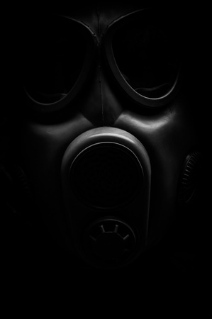 Man in protective suit against dark background Stock Photo - 17018034