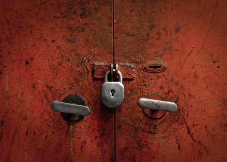door knob: Rusted metal texture closeup photo as a background