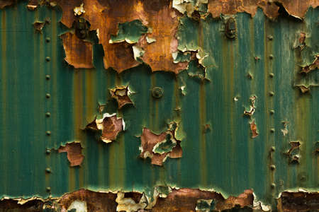 Rusted metal texture closeup photo as a background photo