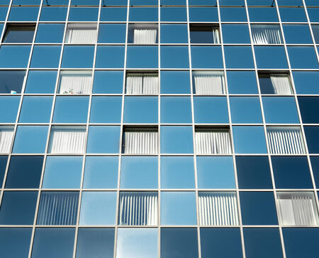 many windows: Texture of a general building outdoors with many windows