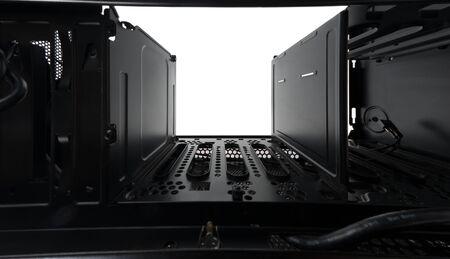 hard alloy: Black steel surface closeup of a machine Stock Photo