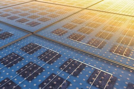 electric energy: Photo of Solar Panel Texture close up Stock Photo