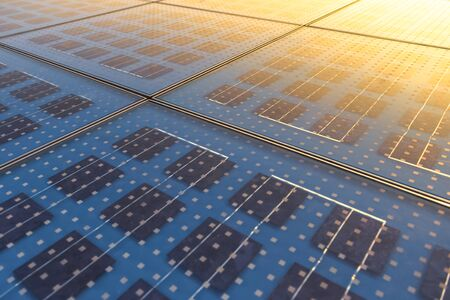 electric cell: Photo of Solar Panel Texture close up Stock Photo