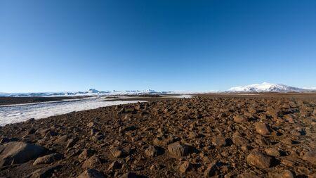 highlands: Volcanic icelandic landscape, the highlands at day