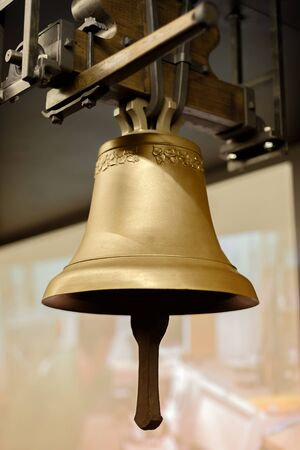 Temple bell made out of copper