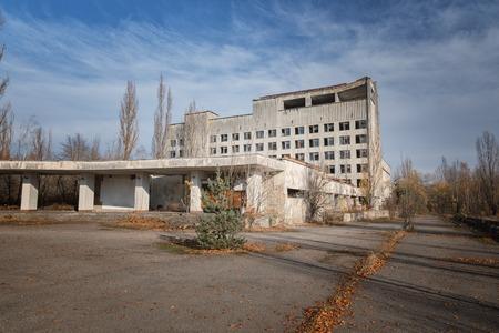 Abandoned city of Pripyat 2019