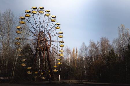 Ferris wheel of Pripyat ghost town