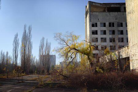 Città abbandonata di Pripyat Archivio Fotografico