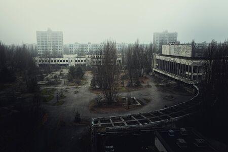 Abandoned city of Pripyat 写真素材