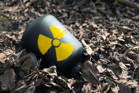 Radioactive waste thrown out as garbage