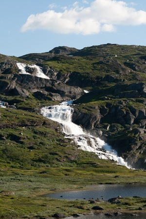 smal: A smal waterfall in Norway