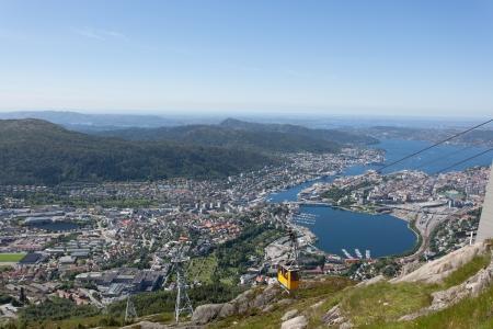 Taken from Ulriken in the city of Bergen, Norway